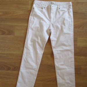 Seven 7 Jeans White Straight Denim 12